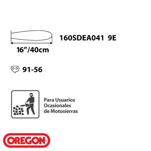 Barra Guia Espada + Cadena Oregon P/ Motosierra Echo 3500