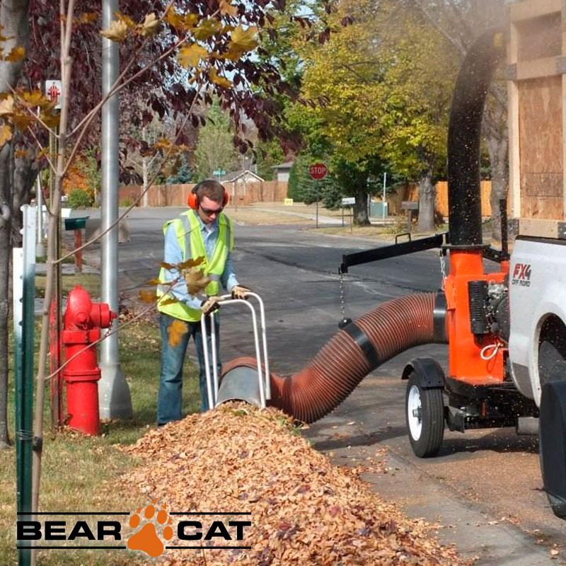 Aspirador Cargador Hojas Residuos 390cc Echo Bear Cat Dl8390