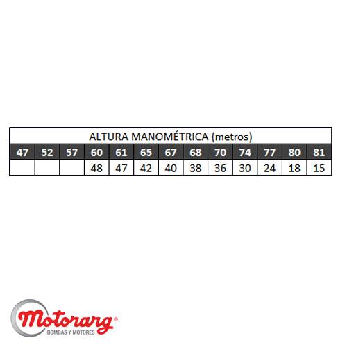Bomba Centrifuga De Agua Trifasica Motorarg Bcb 40-250 20hp