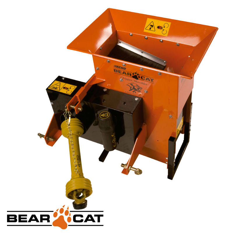 Chipeadora Trituradora 127mm 30-45hp Echo Bear Cat Sc5540