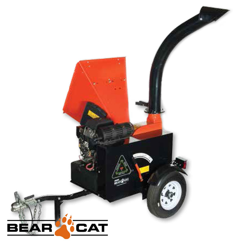 Chipeadora 127mm 653cc 22hp Con Trailer Echo Bear Cat Ch5653