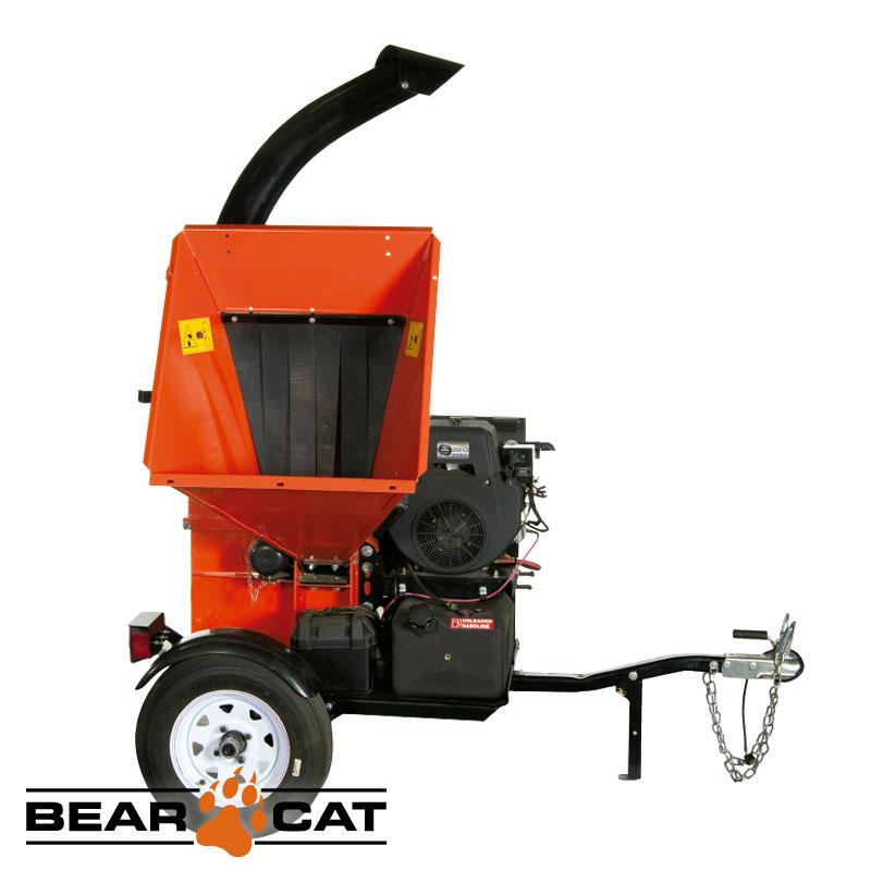 Chipeadora 127mm 653cc 22hp Con Trailer Echo Bear Cat Ch5653