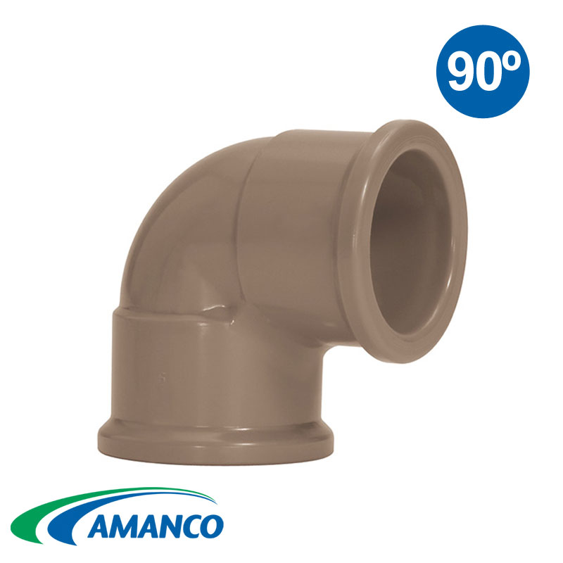 CODO 90º PVC SOLDABLE AMANCO 110mm