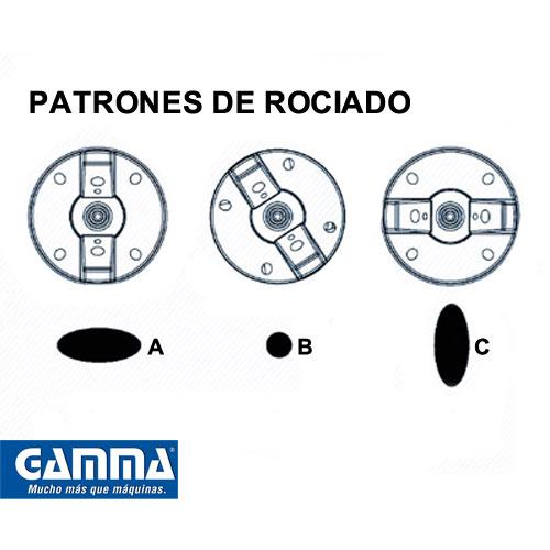Equipo para pintar rodante 750W GAMMA G2824AR