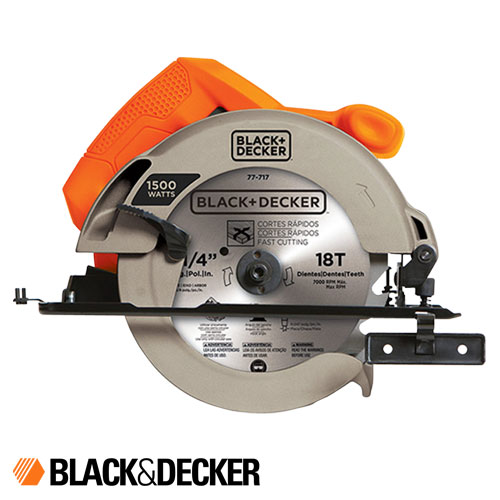 Sierra Circular 184mm 1500w 5500 Rpm Black And Decker Cs1024