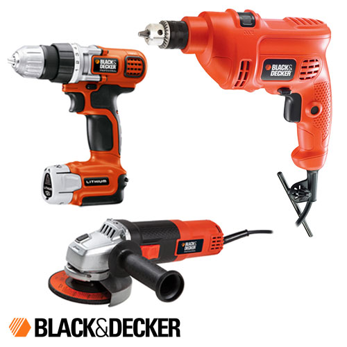 Combo Black And Decker Taladro TM505 + Amoladora G720N + Atornillador