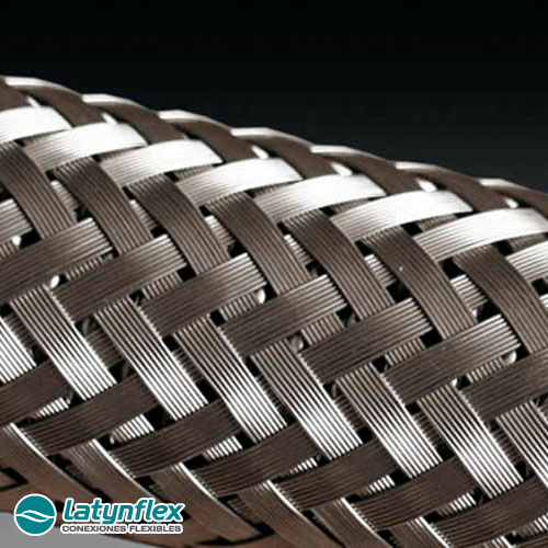 Flexibles Mallado Acero Inoxidable 1/2 X 35cm + Teflon ¾ x 20m Latynflex
