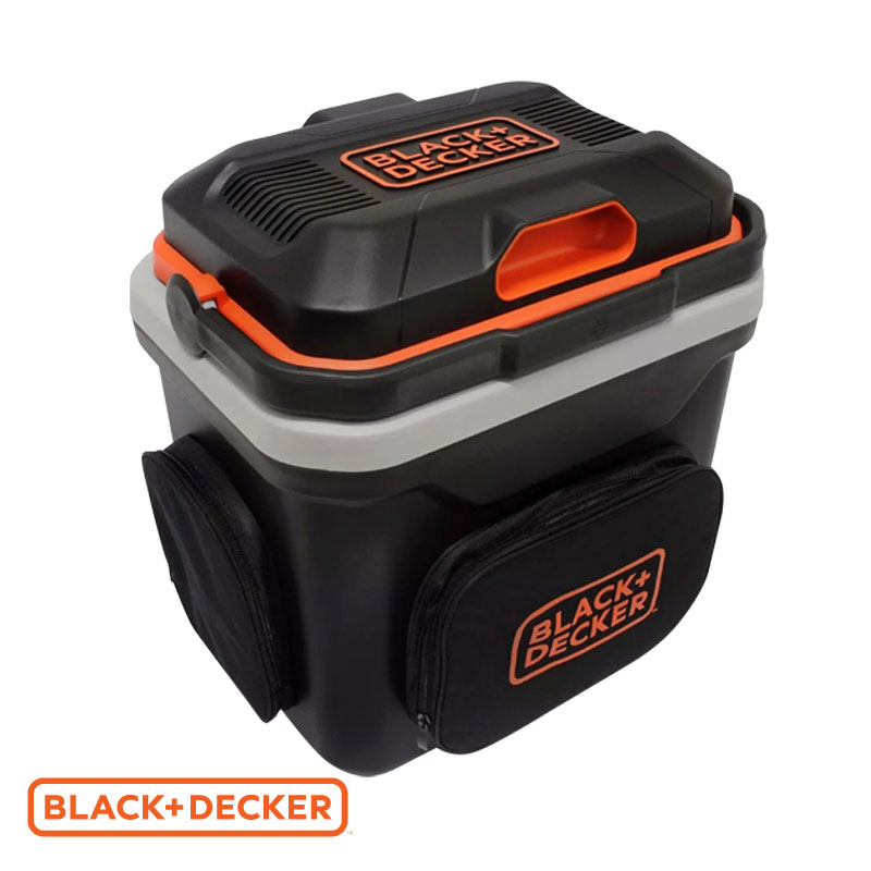 Heladerita portátil Black And Decker 12/220v 24l bdc24L