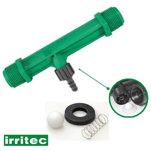 Inyector Venturi 1 pulgada para inyección de fertilizantes Irritec