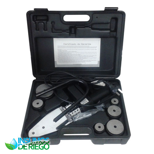 KIT TERMOFUSORA ECO TOOLS TF5006 800W + TIJERA CORTA TUBOS 42MM