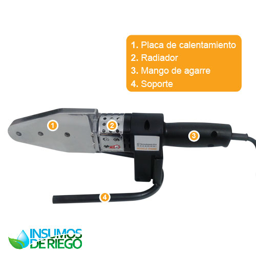 KIT TERMOFUSORA ECO TOOLS TF5006 800W