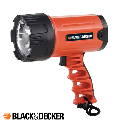 LINTERNA LED RECARGABLE 80 LUMENES Black And Decker BSL100