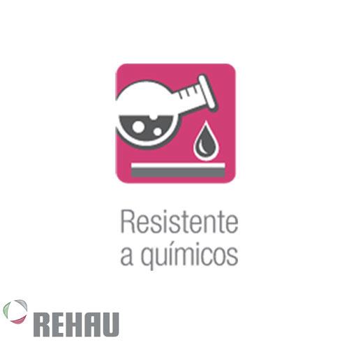Rehau Rollo de manguera Rauspiraflex H2 Amarilla 25/3.1 x 25 mts