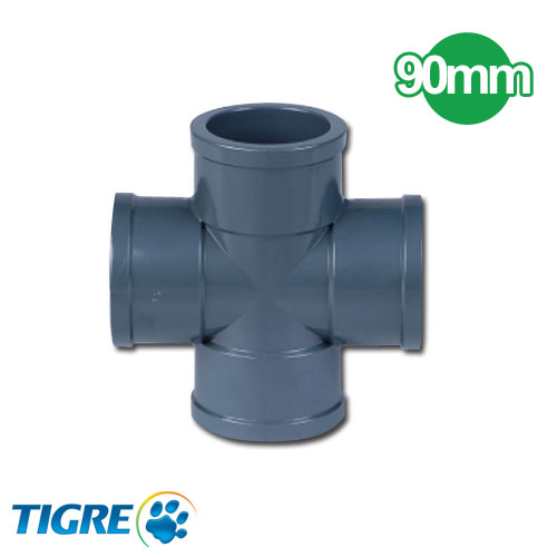 CRUCETA PVC SOLDABLE 90mm