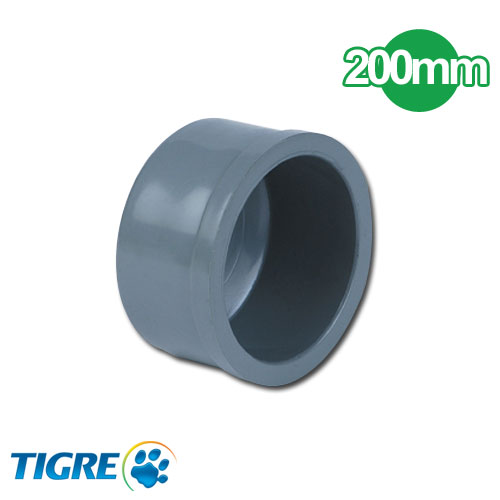 TAPA PVC SOLDABLE 200mm