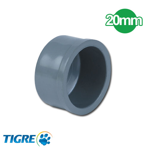 TAPA PVC SOLDABLE 20mm
