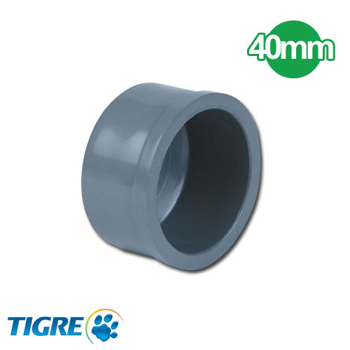 TAPA PVC SOLDABLE 40mm