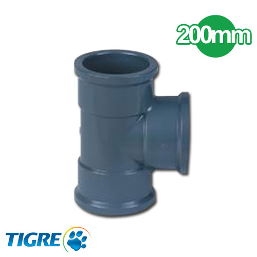 TEE 90º PVC SOLDABLE 200mm