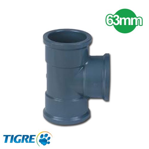 TEE 90º PVC SOLDABLE 63mm