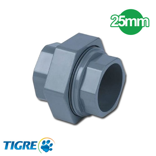 UNION DOBLE PVC SOLDABLE 25mm