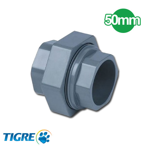 UNION DOBLE PVC SOLDABLE 50mm