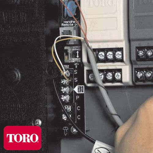 PROGRAMADOR DE ESTACIÓN TORO TMC-424E 4 ESTACIONES EXPANDIBLE A 12 - 220V