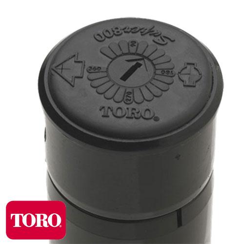 ASPERSOR ROTOR DE RIEGO TORO S800-FC VÁLVULA ANTI-DRENAJE ALCANCE HASTA 15M