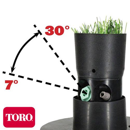 ASPERSOR ROTOR DE RIEGO TORO TS90TP-52TC TURF CUP